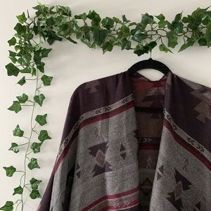 Sweaters - ☆ PATTERNED SHAWL ☆